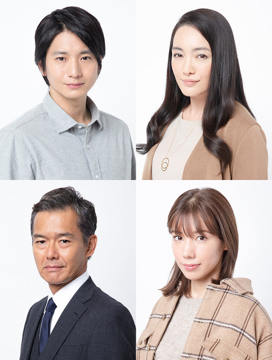 左上から時計回りに向井理、仲間由紀恵、仲里依紗、渡部篤郎