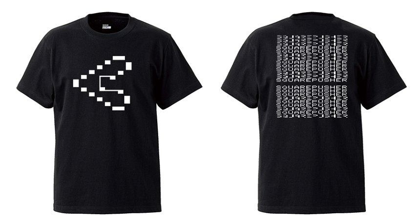 SQUAREPUSHER『Be Up A Hello』オリジナルTシャツ