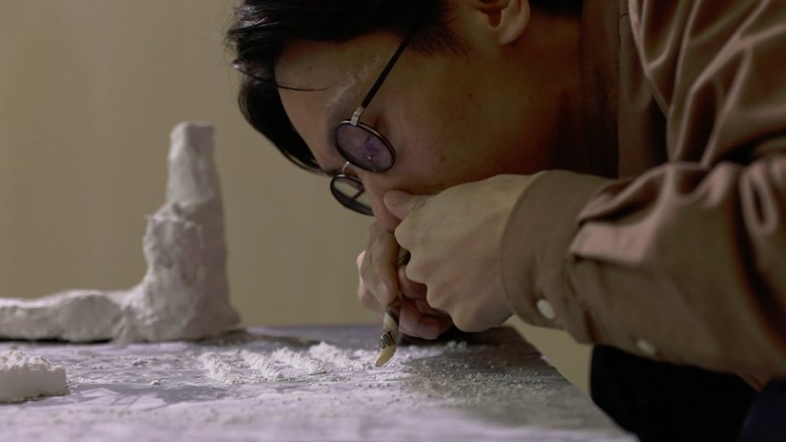 "中島晴矢『Tokyo Sniff』2019年 video|12' 44"""