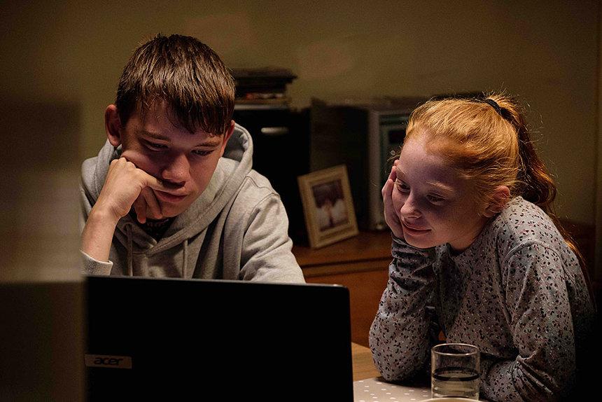『家族を想うとき』 photo: Joss Barratt, Sixteen Films 2019