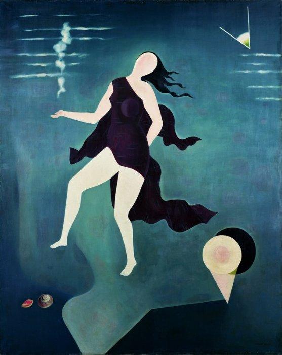 古賀春江『白い貝殻』1932年(昭和7)ポーラ美術館蔵