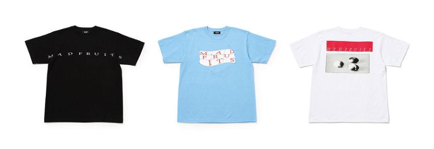 MAD FRUITS ロゴTシャツ