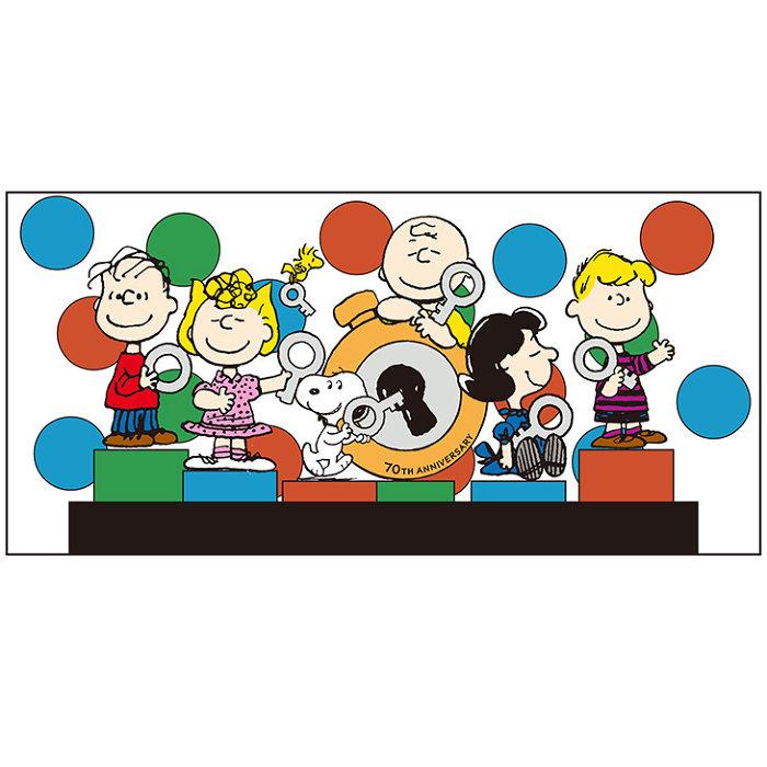 「PEANUTS 70th Anniversary」ビジュアル ©2019 Peanuts Worldwide LLC