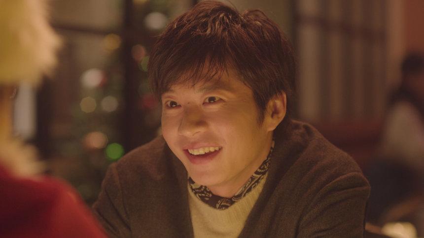 ソフトバンク新テレビCM「恋人がサンタクロース」篇より