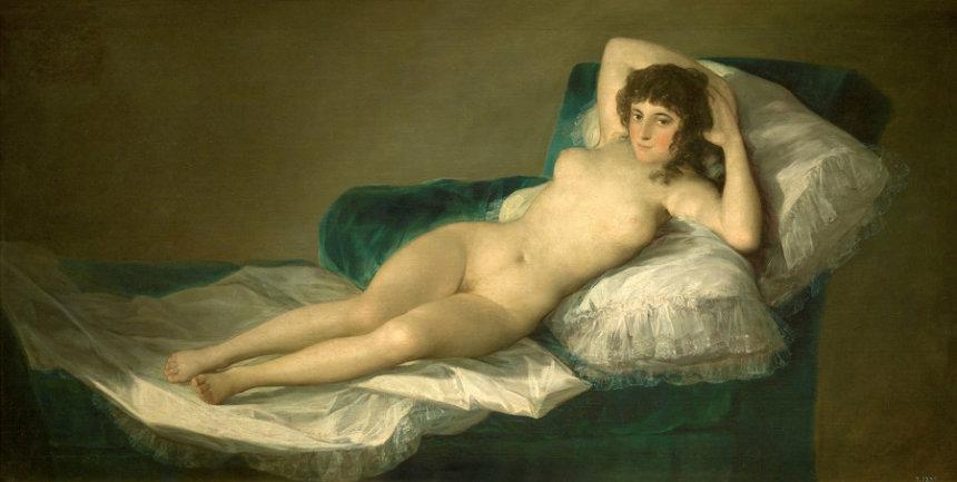 フランシスコ・デ・ゴヤ『裸のマハ』