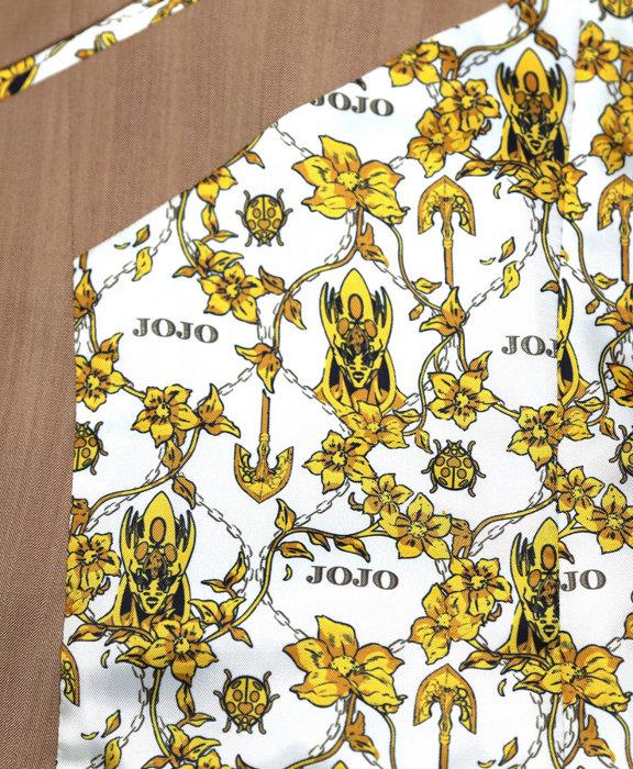 ジョルノ・ジョバァーナモデルジャケット ©LUCKY LAND COMMUNICATIONS/集英社・ジョジョの奇妙な冒険GW製作委員会