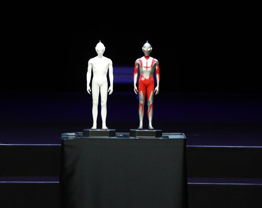 『シン・ウルトラマン』「ウルトラマン」雛形©2021「シン・ウルトラマン」製作委員会