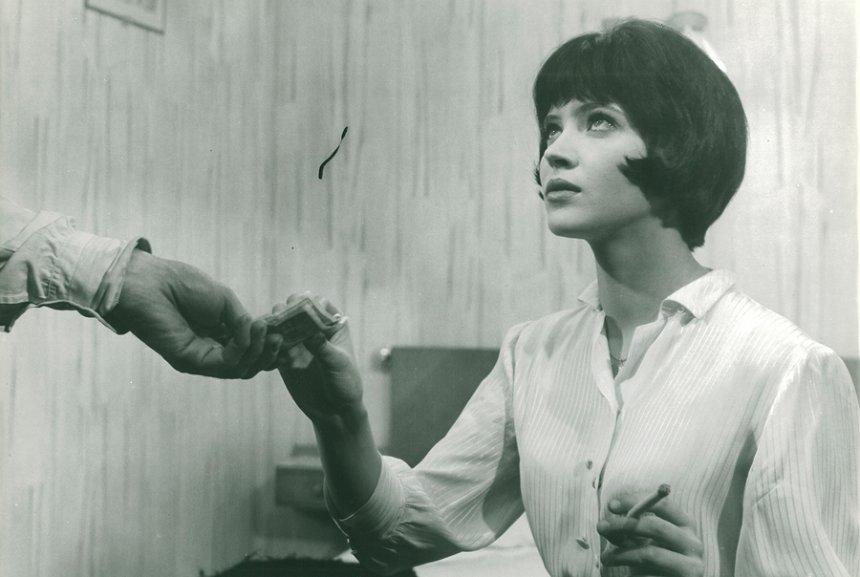 『女と男のいる舗道』Vivre sa vie ©1962.LES FILMS DE LA PLEIADE.Paris