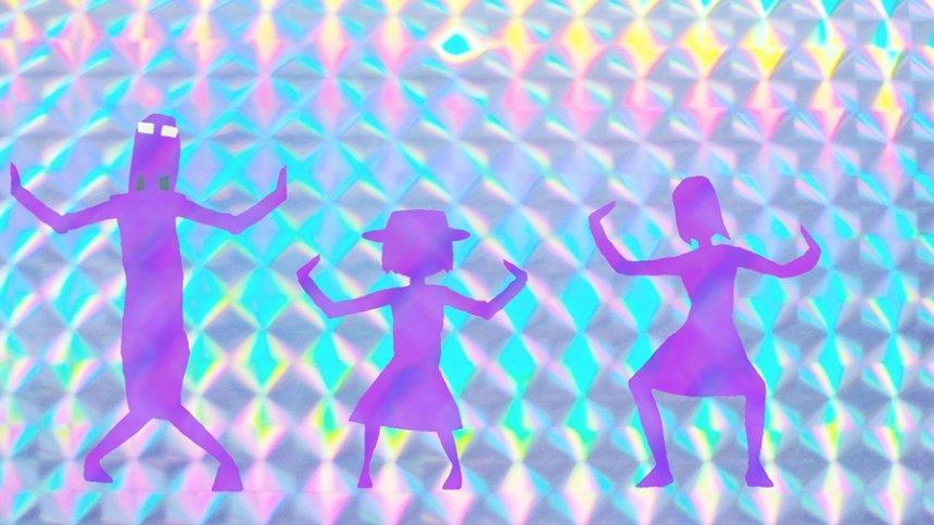 『映像研には手を出すな!』オープニング映像より ©2020 大童澄瞳・小学館/「映像研」製作委員会