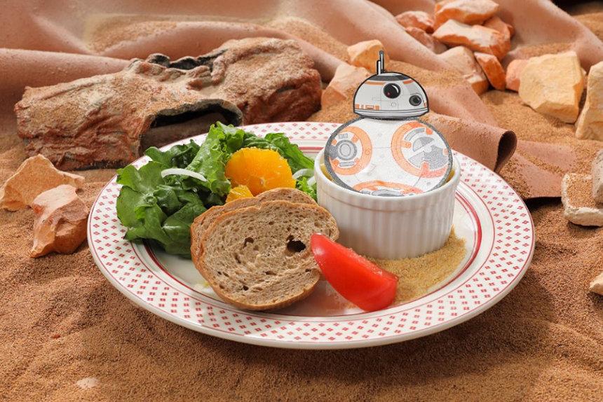 BB-8 海老ービーエイト・グラタン © & TM Lucasfilm Ltd.