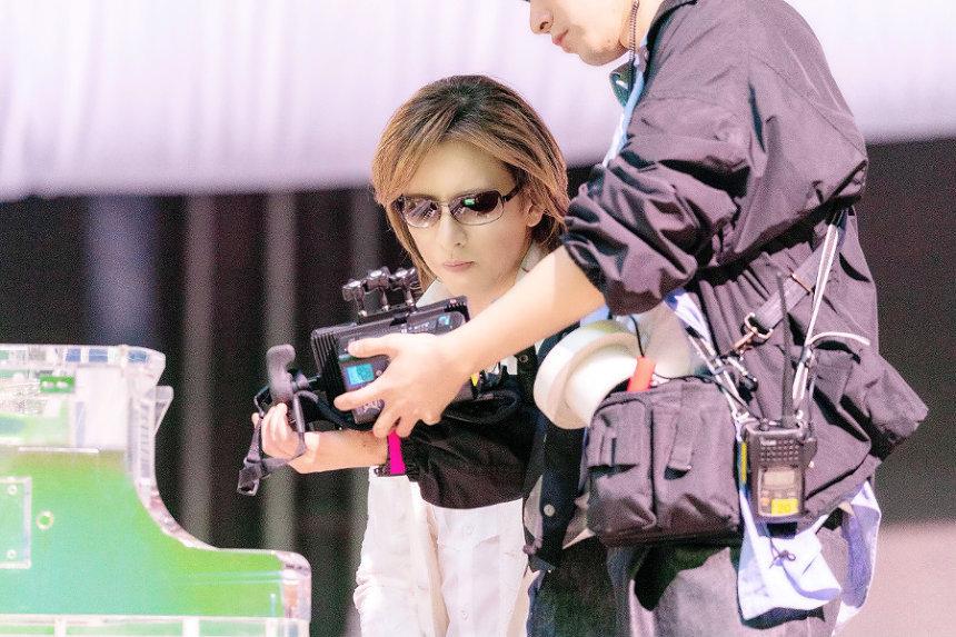 SUUMO新CM「スーモとYOSHIKI なんで弾いてるんだろう?」篇メイキング