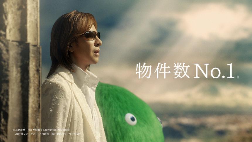 SUUMO新CM「スーモとYOSHIKI なんで弾いてるんだろう?」篇より