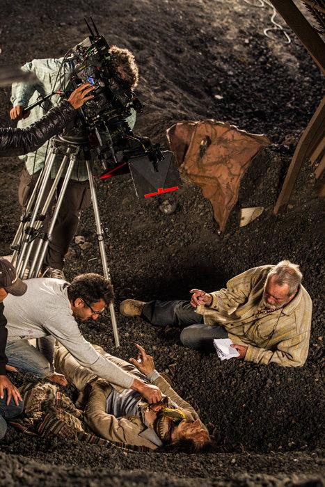 『テリー・ギリアムのドン・キホーテ』メイキング ©2017 Tornasol Films, Carisco Producciones AIE, Kinology, Entre Chien et Loup, Ukbar Filmes, El Hombre Que Mató a Don Quijote A.I.E., Tornasol SLU