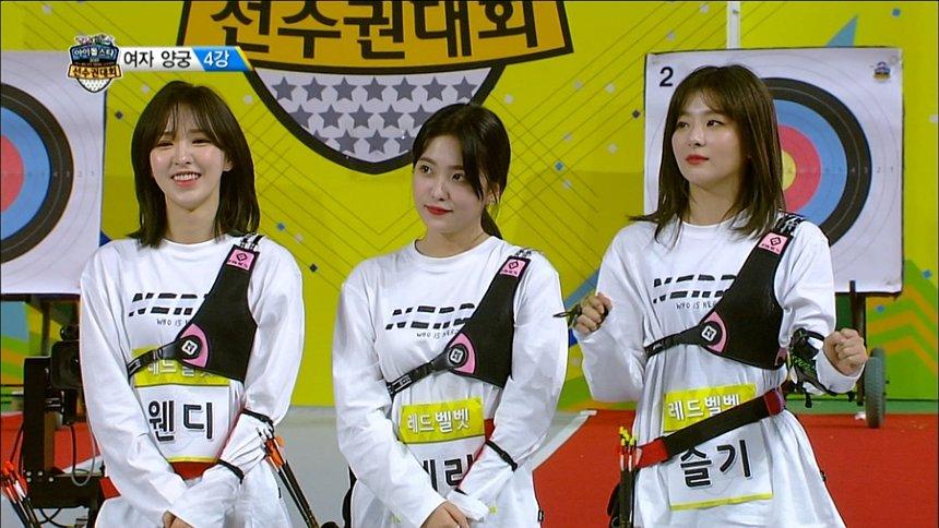 『K-POPアイドルスタースポーツ選手権2019』より©MBC