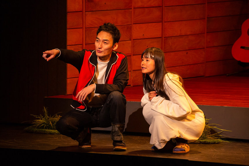 『家族のはなし PART I』京都公演の模様 撮影:内池秀人