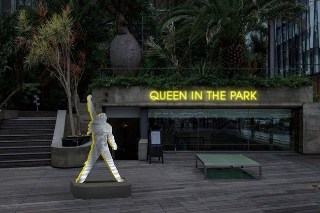 『#013 QUEEN IN THE PARK ~クイーンと遊ぼう~』イメージビジュアル