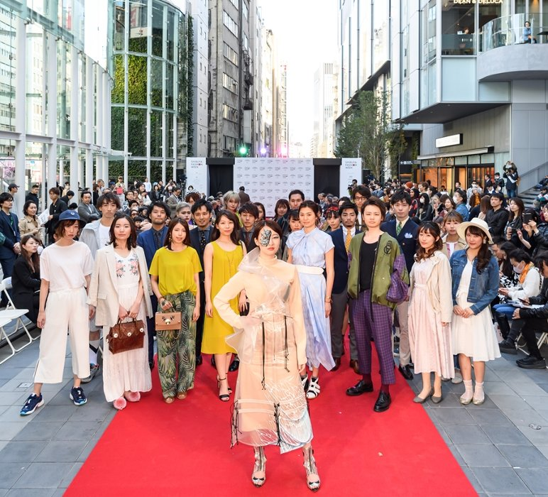 『渋谷ファッションウイーク 2020春』キービジュアル