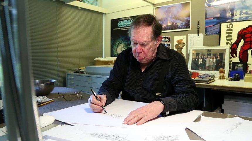 『ノンフィクションW ブレードランナーの世界を創った男 シド・ミードが描く2042年』より