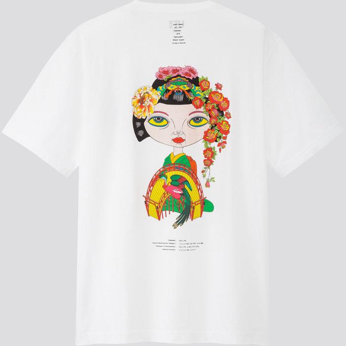 田名網敬一Tシャツ裏