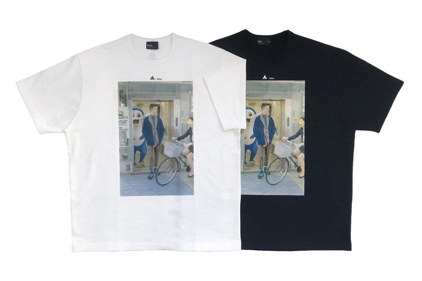 kolor × イルカのイルカくん フォト Tシャツ