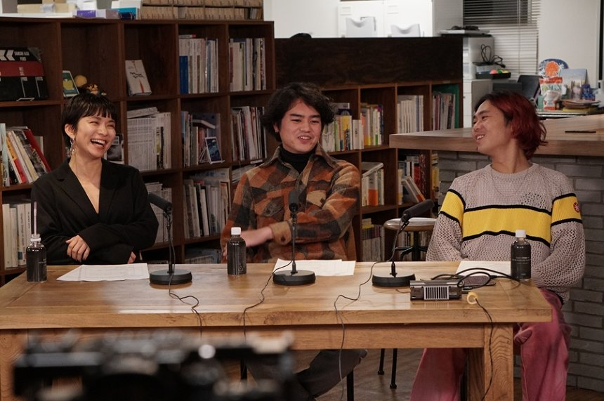 ユキエ、MCのオカモトレイジ 、Yuto Uchino