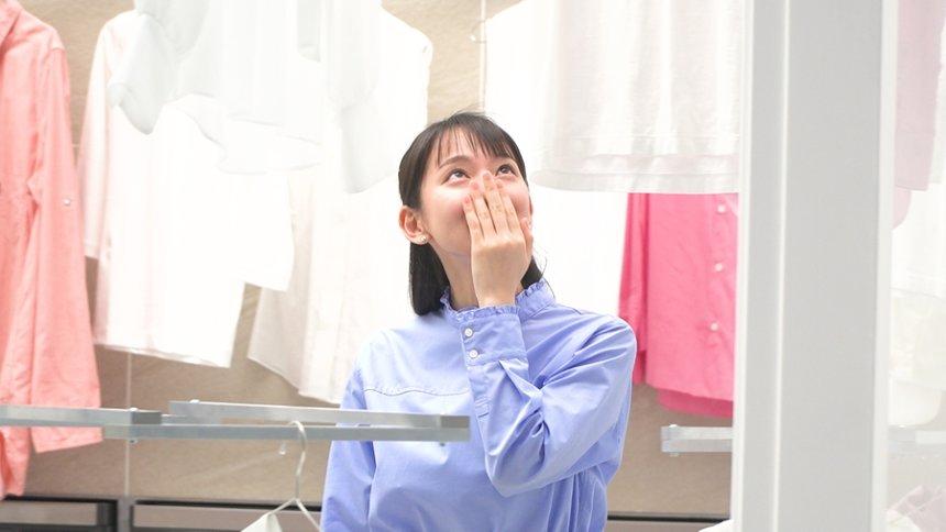吉岡里帆が出演する「レノアハピネス まるで本物の花の香り篇」