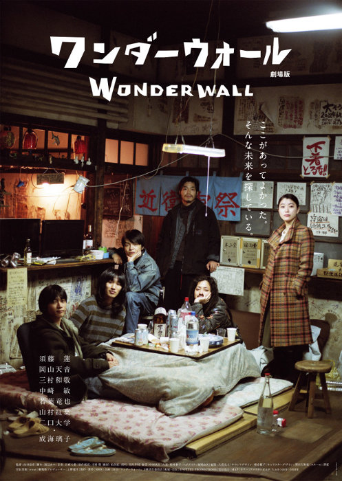 『ワンダーウォール 劇場版』ポスタービジュアル ©2018 NHK