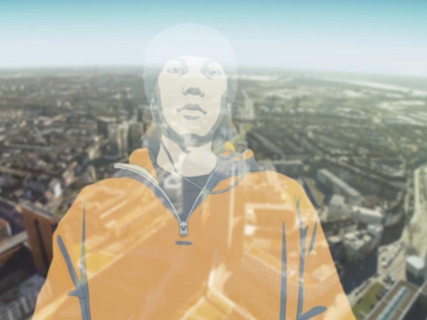 佐藤雅晴『TRAUM』 2004-2007 アニメーション、ビデオ 10分  ©Estate of Masaharu Sato / Courtesy of KEN NAKAHASHI