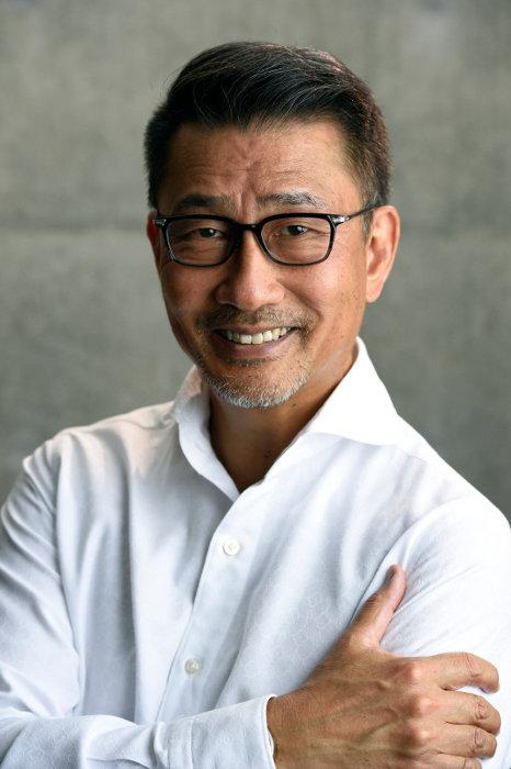 『連続ドラマW 華麗なる一族』で万俵大介役を演じる中井貴一