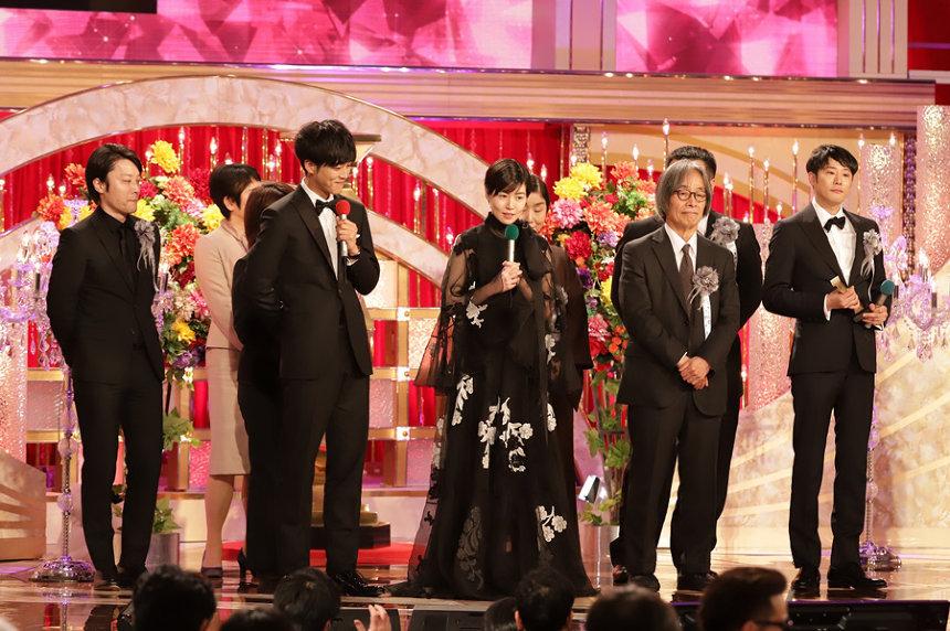 第43回日本アカデミー賞授賞式 ©日本アカデミー賞協会