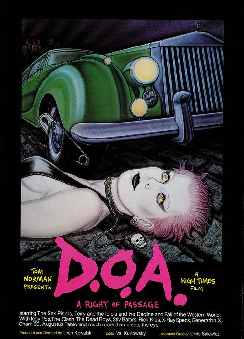 『D.O.A.』ビジュアル ©1981 D.O.A. Productions © 2017 MVD Entertainment Group