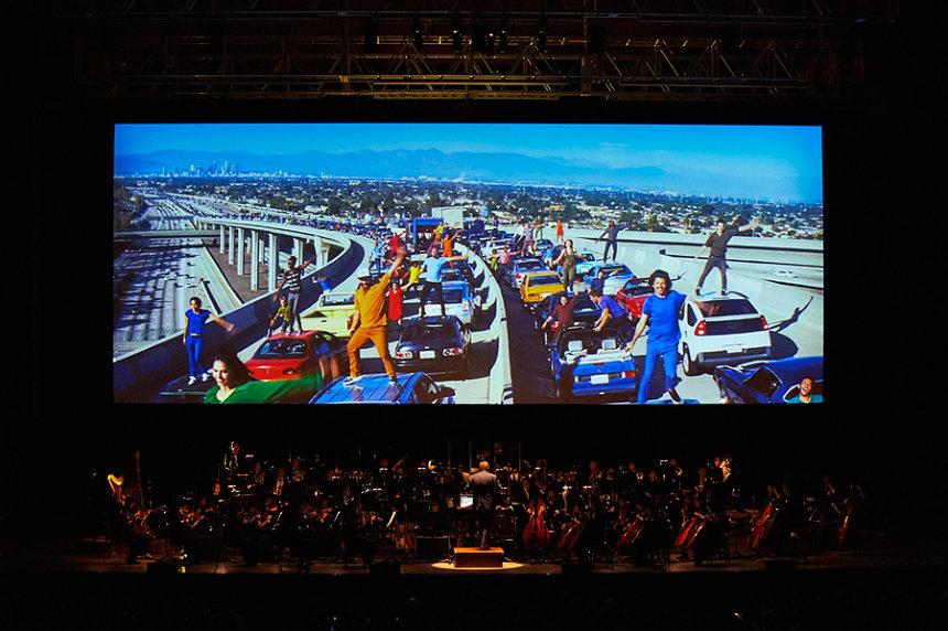 『ラ・ラ・ランド in コンサート 2017』公演より La La Land TM & © 2020 Summit Entertainment, LLC. All Rights Reserved.