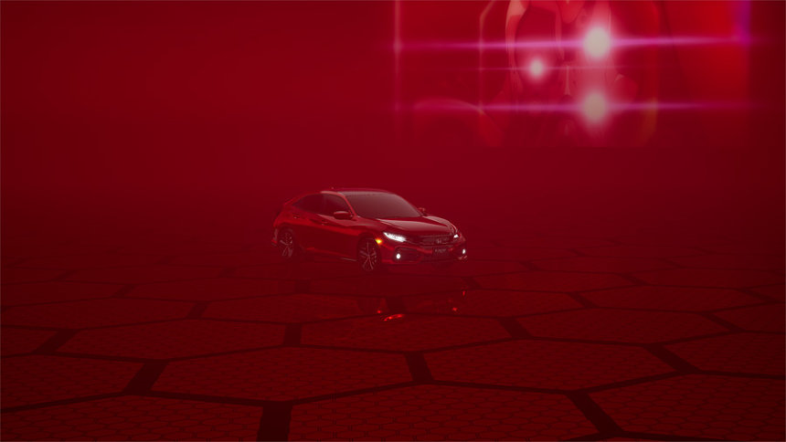 Hondaシビック×『エヴァンゲリオン』イメージ画像