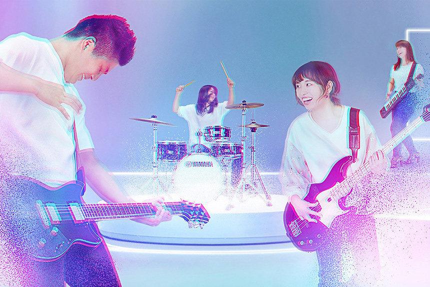 ヤマハがオンラインセッションサービス『SYNCROOM』を6月に公開予定