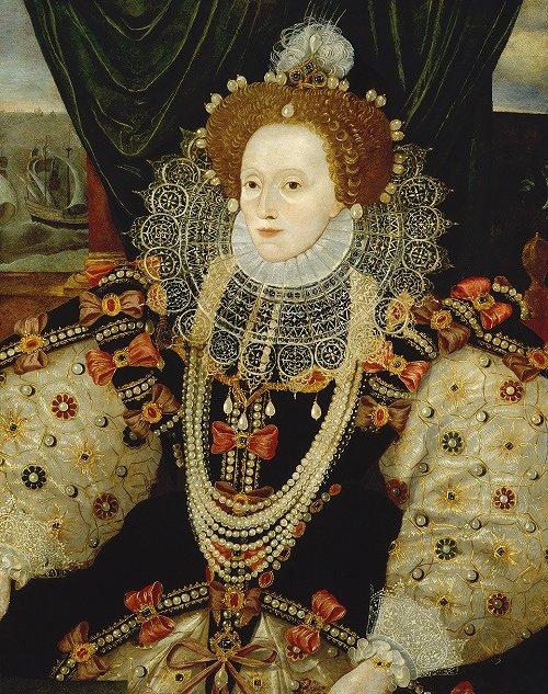 Queen Elizabeth I by Unknown English artist (ca.1588) ©National Portrait Gallery