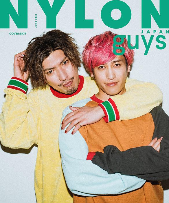 『NYLON JAPAN 6⽉号』guys表紙 ©NYLON JAPAN