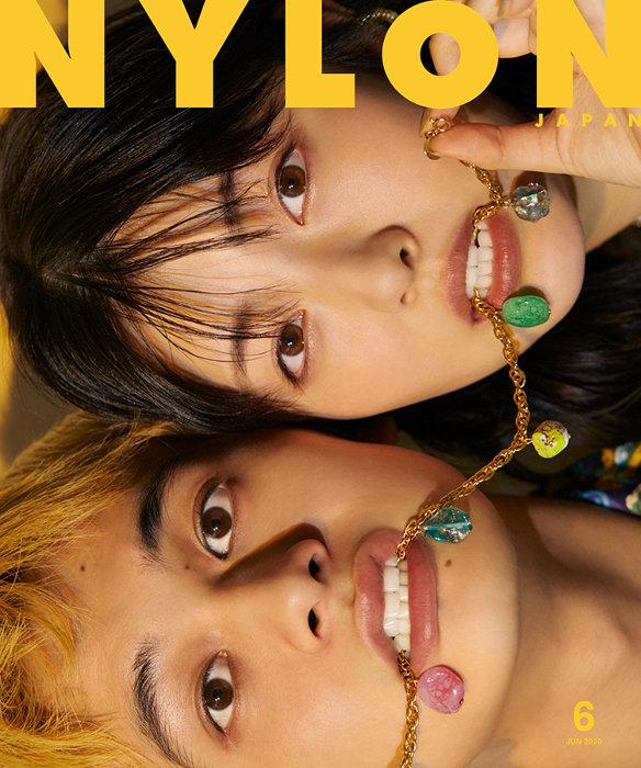 『NYLON JAPAN 6⽉号』表紙 ©NYLON JAPAN