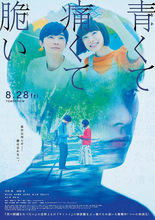 『青くて痛くて脆い』ポスタービジュアル ©2020「青くて痛くて脆い」製作委員会