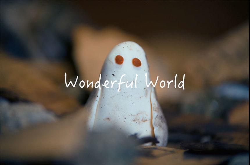 『Wonderful World』オープニングタイトルアニメーション