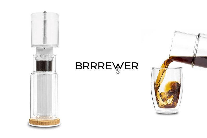 自宅で本格派水出しコーヒーを楽しむ、『BRRREWER』