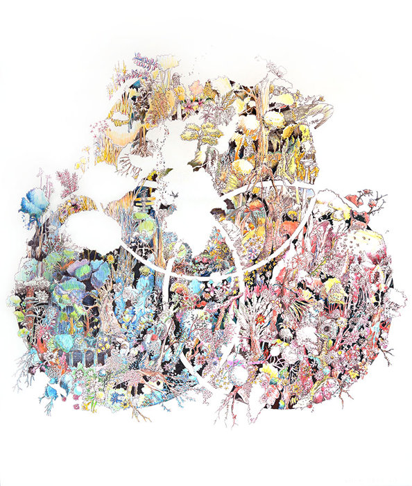 Kiichiro Adachi『drawing for CMY』