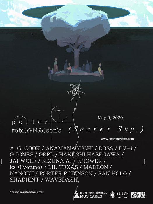 『SECRET SKY MUSIC FESTIVAL』ビジュアル