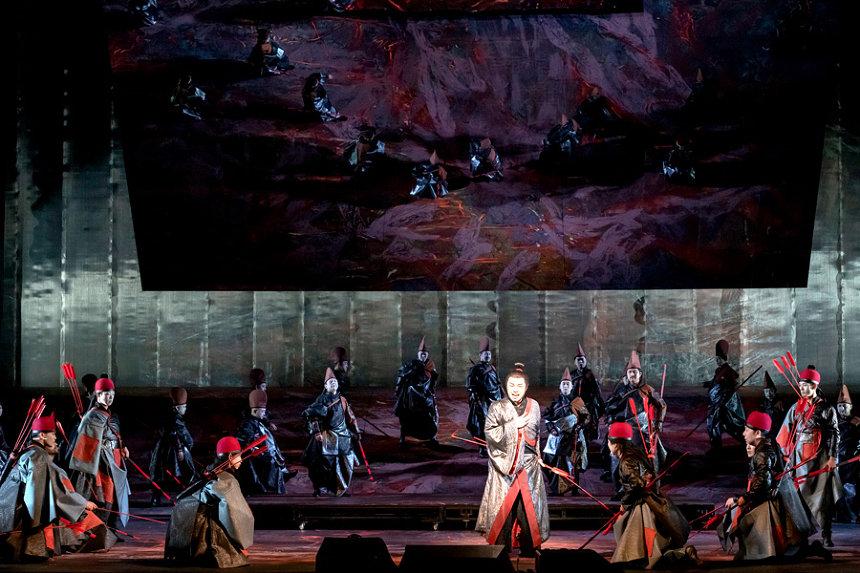 新国立劇場「巣ごもりシアター」で音楽劇『紫苑物語』公演映像を無料配信
