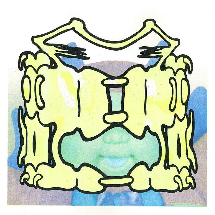 Russell Maurice『Kyabetsu mask』リソグラフプリント