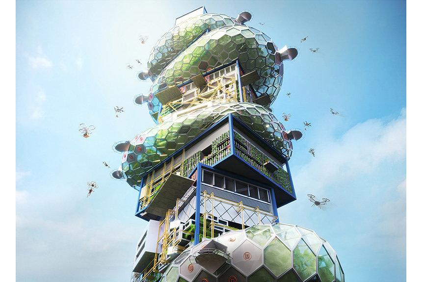 次世代型スマートシティ『SHIBUYA HYPER CAST.2』が公開