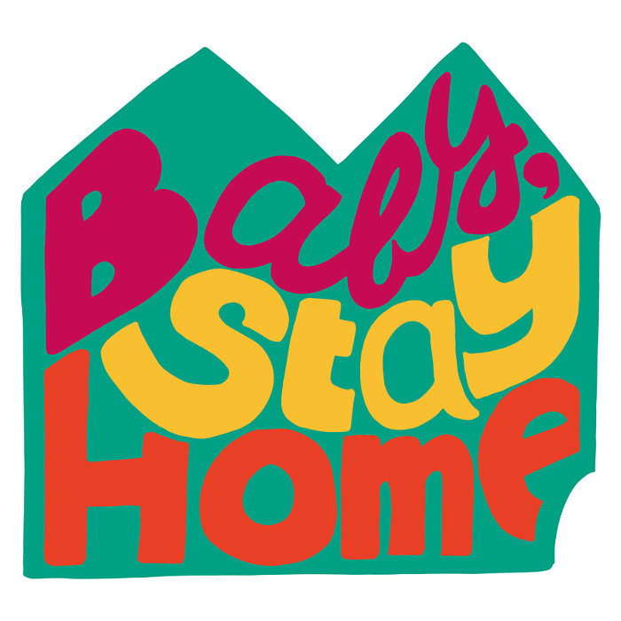 『Baby, Stay Home -Remix-』ジャケット