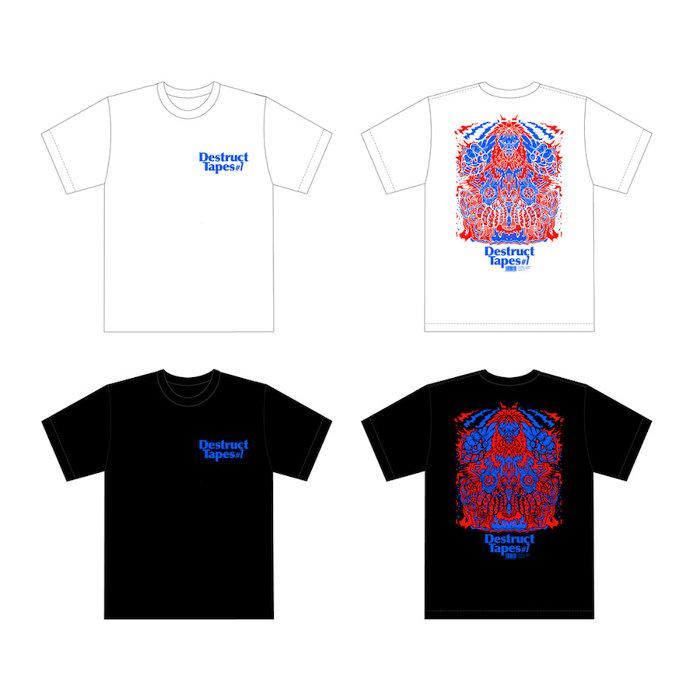 V.A.『Destruct Tapes #1』オリジナルTシャツ