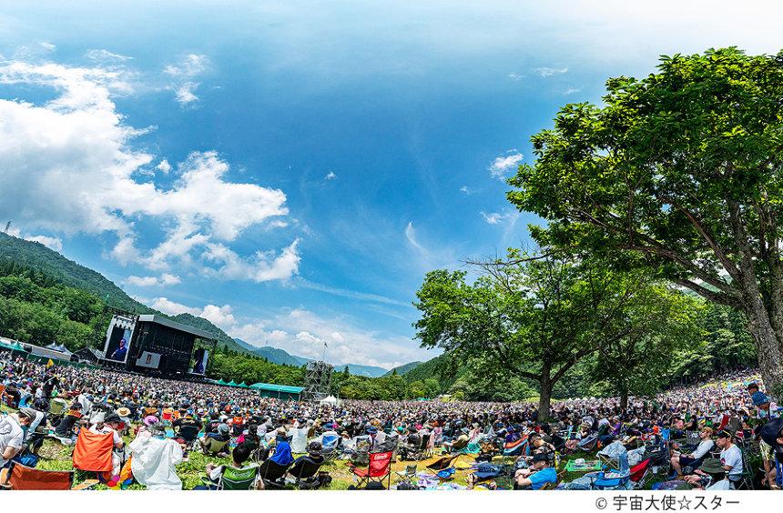『FUJI ROCK FESTIVAL』 ©宇宙大使☆スター