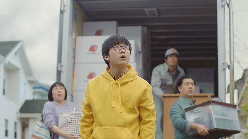 ソフトバンク新テレビCM「5Gってドラえもん?『のび太登場』」篇より ©Fujiko-Pro