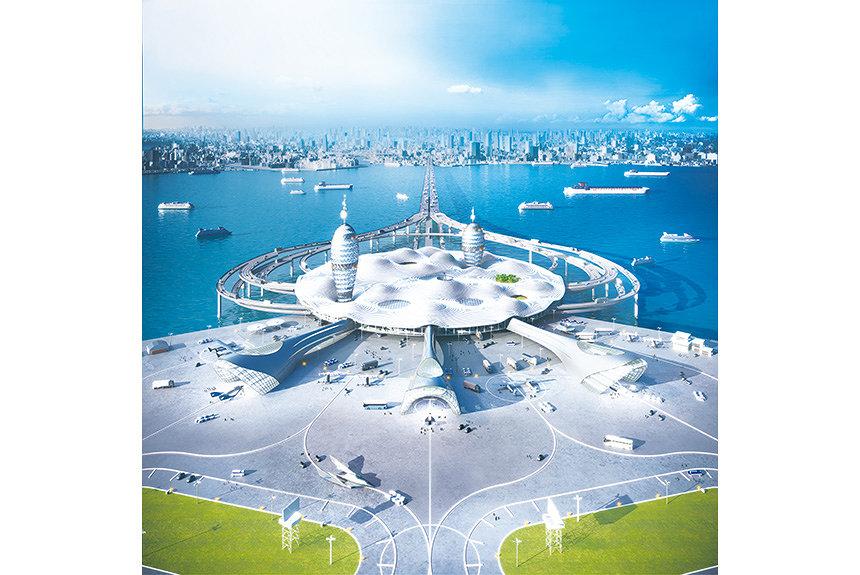 日本と宇宙をつなぐ『スペースポートシティ構想図』